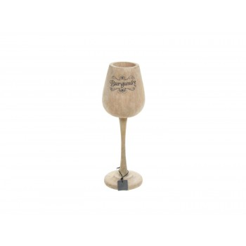 Deco wijnglas medium