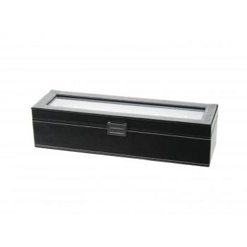 Horlogebox zwart 6st