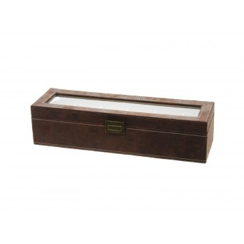 Horlogebox bruin 6st
